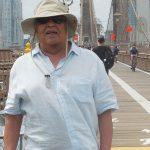 NAJI sur le Pont de Brooklyn